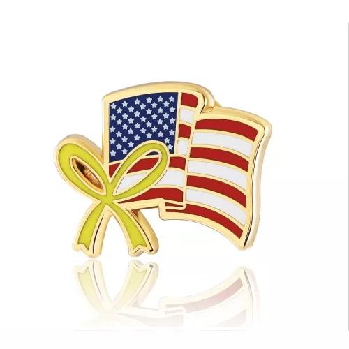American flag lapel pins (S109)