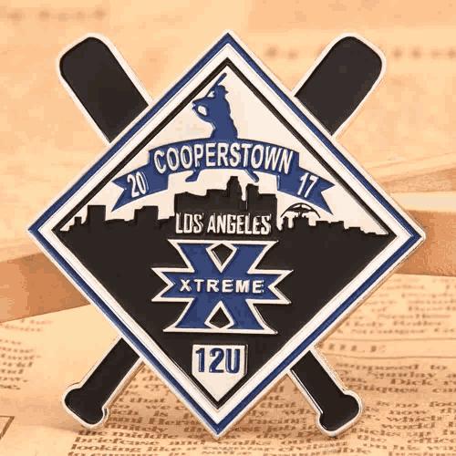 LA Xtreme Baseball Pins