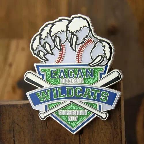 Eagan Wildcats Baseball Trading Pins