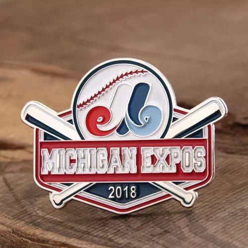Michigan Expos Lapel Pins