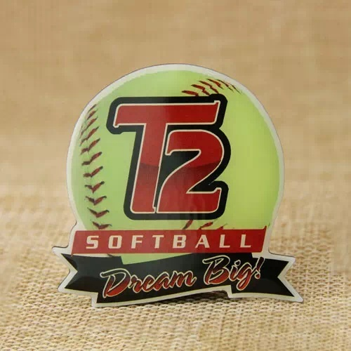 T2 Softball Trading Pins