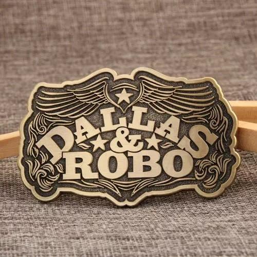 Dallas Robo Funny Belt Buckles