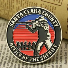 Sheriff Custom Challenge Coins
