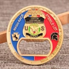U.S. CBP Military Coins