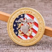 US Coast Guard Challenge Coins