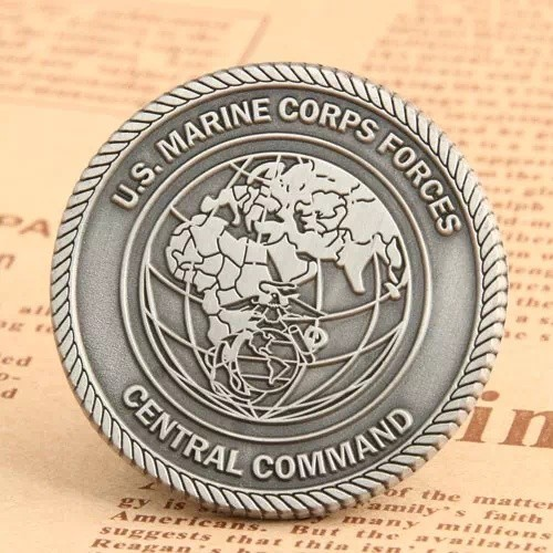 US Marine Corps Challenge Coins