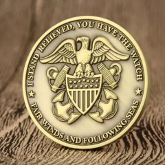 US Navy Custom Challenge Coins