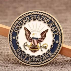 U.S. Navy Reserve Challenge Coins
