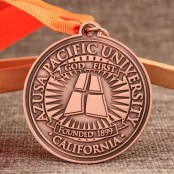AZUSA Pacific College Custom Medals