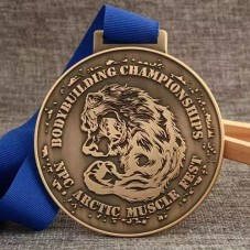Bodybuilding Championships Award Medals