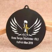 Bons Temps Triathletes Medals