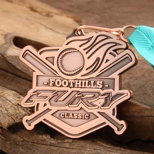 Foothills Classic Custom Medals
