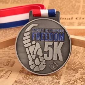 Freedom 5K Running Medals