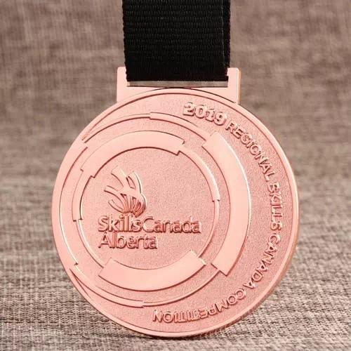 Skills Canada Alberta Custom Medals