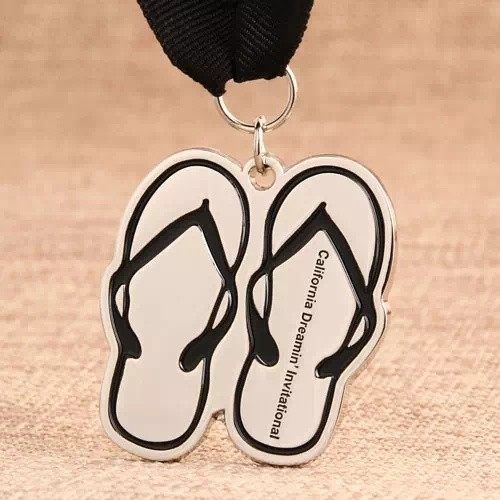 Slippers Custom Medals