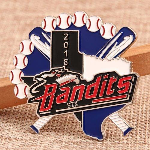 Bandits Custom Trading Pins