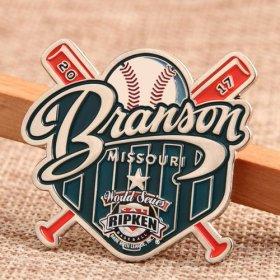 BM Baseball Trading Pins