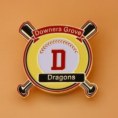 Downers Grove Dragons Baseball Pins