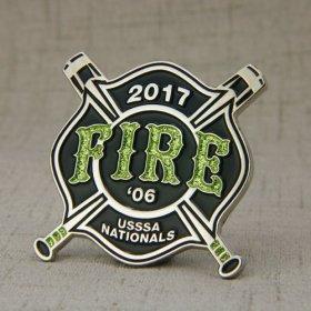 FIRE Baseball Pins