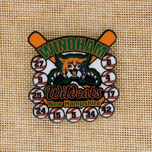 Windham Wildcats Baseball Pin