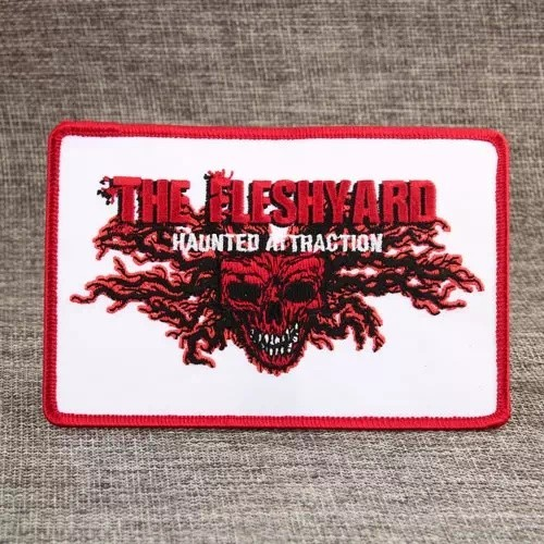 The Fleshyard Embroidered Patches
