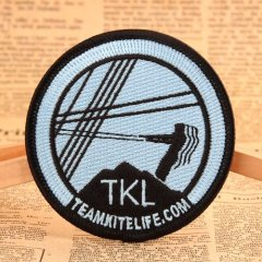 Team Kite Life Embroidered Patches