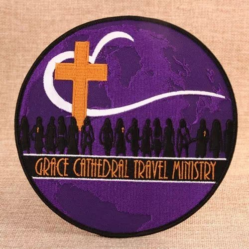 Grace Cathedral Embroidered Patches