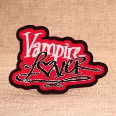 Vampire Cheap Custom Embroidered Patches