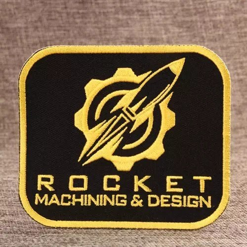 Rocket Small Order Custom Patches