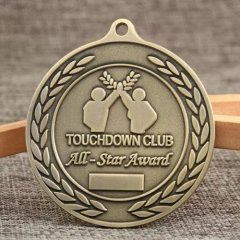 Touchdown Club Award Medals