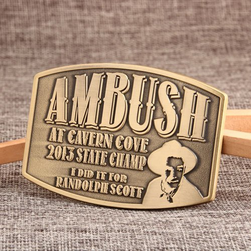 Ambush Cowboy Belt Buckles