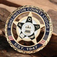 Burlington County Lodge Challenge Coins