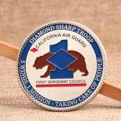 California Air Guard Challenge Coins