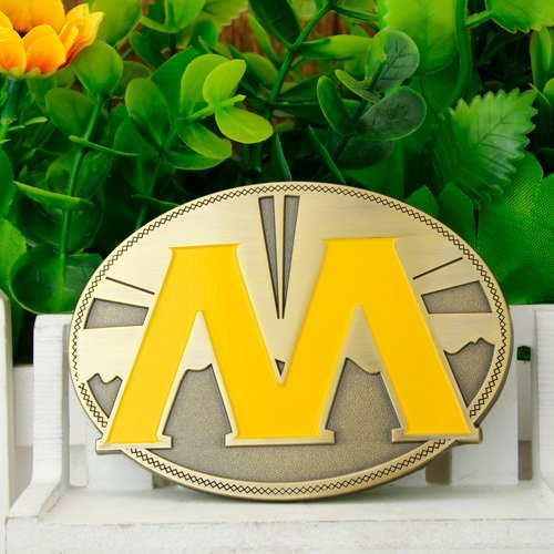 M Antique Belt Buckles