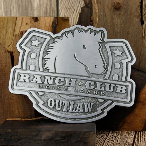 Ranch Club Antique Belt Buckles