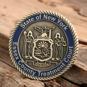 EC Treatment Court Challenge Coins