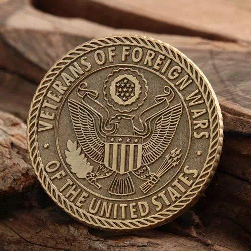 VFW Custom Challenge Coins
