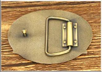 Belt Buckles without Back Text