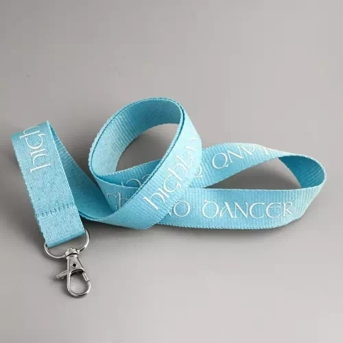 Highland Dancer Blue Lanyards