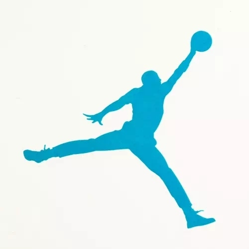 Air Jordan Clear Stickers