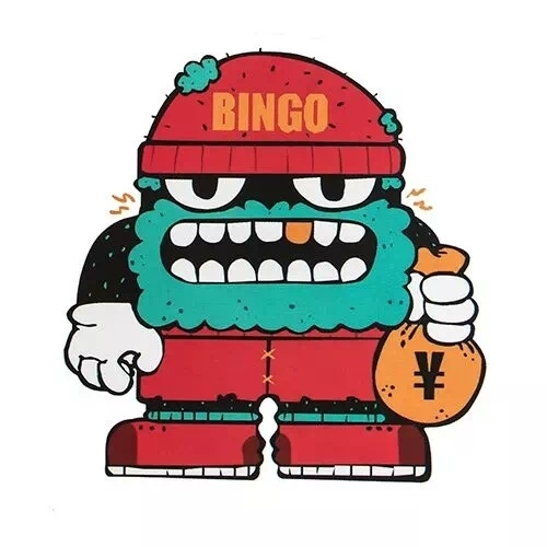Bingo Robot Custom Stickers