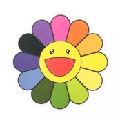 Takashi Murakami Flower Stickers