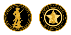 Army National Guard Challenge Coins