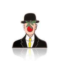 Gentleman Hard Enamel Pins