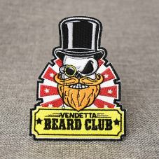 Beard Custom Embroidered Patches