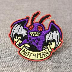 Mothman Custom Embroidered Patches
