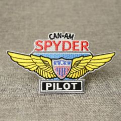 The Pilot Embroidered Patches