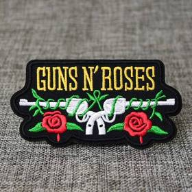 Guns N' Roses Embroidered Patches