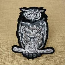 Owls Custom Embroidered Patches