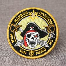 The Skull Custom Embroidered Patches